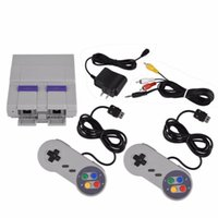 Portable Game Players 5pcs 16 Bit Games!! Retro Mini TV Video Console With 94 Built-in Different Games For Snes Two Gamepads AV Out
