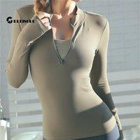 Chrleisure с длинным рукавом футболки йоги спортивный лучший фитнес спортзал спортивная одежда для женщин подталкивает бегущую полную одежду