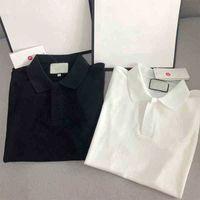 21ss homens camiseta polo designers letra g de moda camisas mulher manga curta camisetas preto branco verão bests vendendo mens tracksuit tshirt casual tops atacado