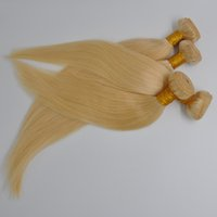 Indian Brazilian virgin Human Hair 3 Bundles 613 double weft France, Britain, the United States high-end silky straight