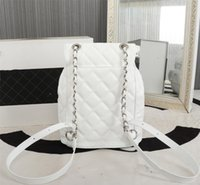 Luxe high-end ontwerper stijl pu rugzak lederen dames echt topkwaliteit back pack bags dames school rugzakken klassieke merk portemonnee groothandel a