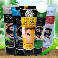 Blackhead Remover Naso Nero Maschera Nero Fango Acne Trattamento Peel Off PORE Strip Strip Peels Masks Controllo dell'olio Cura della pelle