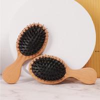 Factory Coussin d'air Massage Drive Large Toile Large Toile Double Tête à plat à queue pointue de la queue professionnelle Salon de coiffure de coiffure NHA7507