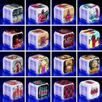 38 Stil Squid Game Toy Lee Jung Jae Park Hae Soo Färgrik Väckarklocka Student Creative Color-Changing Desktop Ornaments Sugar Cake Challenge