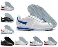 أزياء كلاسيك كورتيز نايلون RM أبيض اسكواش رويال أحمر الاحذية الأساسي بريميوم أسود أزرق خفيف الوزن تشغيل Chaussures Cortezs Leather BT QS أحذية رياضية