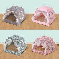 사계절 통화 개 주택 작은 개 테디 침대 접는 텐트 둥지 여름 휴대용 애완 동물 용품 HWF10259