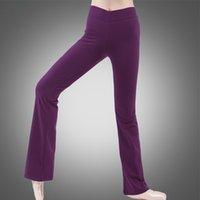 Взрослые брюки A2517 бальные танцевальные брюки для латинской скидки на йога живота