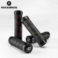ROCKBROS PP Wrapped MTB Bike Handlebar Cover Grips Anti-slip Comfortable Aluminum Alloy Bilateral Ring Lock Cycling Accessories