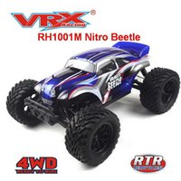 Beetle car VRX Racing RH1001M nitro Truck 1 10 Scale 4WD Nitro Powered RC Car,FC.18 Engine,High Speed nitro Engine H1013