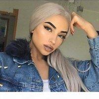 100% vrais cheveux gris feuilleté de queue de cheval de queue de cheval de queue de cheveux gris Afro Kinky cordon de cordon de poitrine gris pièces 120g