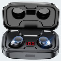 Bluetooth-Compatible V5.0 Auriculares Pop Up Auriculares TWS Pro True Auriculares inalámbricos In-Ear Auriculares Impermeable Mini Auriculares Estéreo Auricie deportivo