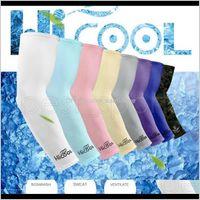 الساق 9 ألوان للجنسين تدفئة ركوب الدراجات sleevelet غطاء دراجة دراجة الشمس الحماية الذراع كم GGA525 100PAZS LYHFP 8YPTL