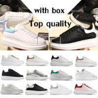Nuove scarpe casual Black White Platform Classic Casual Sports 3M Scarpe riflettenti Scarpe da uomo da uomo Scarpe da donna Velvet Dress Dress Shoe Sports Top Quality con scatola