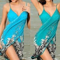 Sciarpe Donne Summer Fashion Beach Dress Sexy Sling Wear Sarong Bikini Cover-Ups Wrap Pareo Gonne Girl Sciarpa Scialle Asciugamano