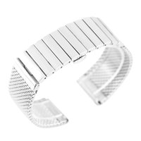 Watch Bands 18 20 22 24mm High Quality Stainless Steel Push Button Hidden Clasp Straps Replacements