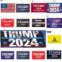 44 Стиль Трамп Флаг 2024 Флаг выборов Баннер Дональд Трамп Флаг Храните Америку Большое снова Иванка Трамп Флаги 150 * 90см