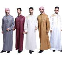 Ethnic Clothing Ropa Hombre Musulman De Mode Man 2021 Abaya Muslim Fashion Dress Pakistan Islam Abayas Robe Saudi Arabia Mannen Kaftan