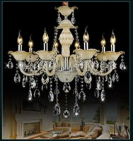 Pendant Lamps Vintage Crystal Black Lamp Modern Led Chandelier Living Room Decoration Lamparas De Techo Nordic Home
