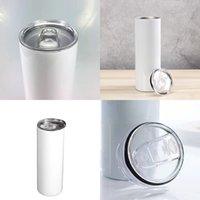 Stainless Steel 30 20 oz Double Wall Vacuum Insulated Water Bottle Tumbler Sublimation Blanks Straight Skinny Cups travel Keep cool Mugs