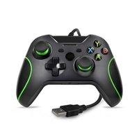 Slim Gamepad Controle Joypad para Windows PC Xbox One Video Game Joystick Microsoft USB Controlador con cable Controladores Controladores Joysticks
