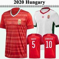 2021 Hongrie Équipe nationale Szoboszlai Dzsudzsak Mens Soccer Jerseys Priskin Bese Botka Gazdag Ferenczi Accueil Football Shirts Uniformes
