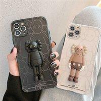 Iphone 12 Pro Max Case Telefono 12Pro Silicone dritto Apple 11 Personality Creativity X Kaw Casi nera o bianca 11 Promax Shell
