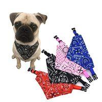 Pet Collar Adjustable Print Fashion Puppy Cat Bibs Triangular Scarfs Saliva Towel Supplies Birthday Party Tie Bow Dog Apparel