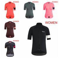 Rapha Team Radfahren Kurzarm Jersey Frauen Pro Sommer Atmungsaktiv Outdoor Sportswear Schnelle Trockene Sportswear H70835