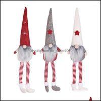 Christmas Festive Supplies & Gardenchristmas Decorations Merry Swedish Santa Gnome Plush Doll Ornament Elf Toys Holiday Home Party Decor Kid