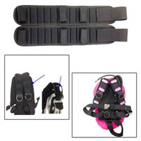 Pool & Accessories 2pcs Shoulder Strap Pad Durable Padded 38x8cm Cushion Diving Back Plate