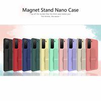 PC005 2.0 TPU Magnetic Nano Cases Anti-Shock Phone Case For iPhone 12 Mini 11 Pro Max XS 8 7Plus 6S