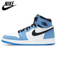 1 shoes Basketball Shoes En Kaliteli Jumpman 1 1 S Yüksek Basketbol Ayakkabı Travis Korkusuz Obsidiyen UNC Erkek Kadın Yasaklanmış Erkekler Spor Ayakkabıları EUR 36-46