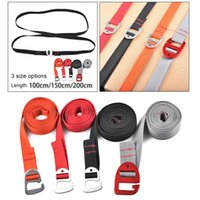 Outdoor Bags Heavy Duty Luggage Straps For Suitcases Packing Belts Travel Accessories Adjustable Bag Strap With Hook Closure