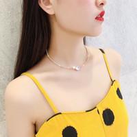 Halskette Set echte vergoldete Zirkonkragen Einfache Temperament Mode Vielseitige übertriebenes Armband