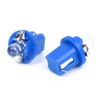 Фары автомобиля 10 T5 лампочки светодиодные синий измеритель для приборной панели DC12V