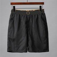 Designer calças de luxo moda mens ocasional cor sólida placa shorts estilo verão praia natação homens esportes short6956
