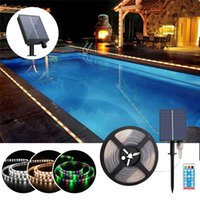 Solar Light Strings 5M 280LEDs IP65 Waterproof 8 Modes With Remote Control Kitchen Room Indoor And Outdoor Decor Christmas Courtyard BackLight Lamp