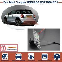 Carro traseiro Câmeras Câmeras Estacionamento Sensores Reverse Backup Camera Starlight Night Vision Alta Qualidade Full HD CCD para Mini Cooper R55 R56 R57 R60