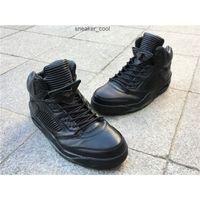Hohe Qualität Jumpman 5s Pinnacle Schwarze Männer Basketball Designer Schuhe Top Material Off Union 5 Echtes Leder Sport Outdoor Sneaker Kommen