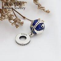 NUEVO 925 plata esterlina Nuestro planeta azul Cuelga Charm Colgante Ajuste Fit Pandora Bracelet Sterling Silver Gift10 566 Q2