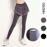 Jambières pour femmes Sécurité haut de gamme Stretch Fitness High Taille Pantalon de cheville