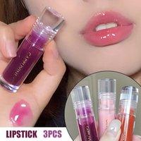 Lip Gloss 3pcs set Mirror Finish Glaze Long Lasting Moisturizing No Fading Non-stick Lipstick LDO99