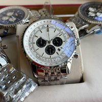 Brietling luxury mens watches quartz watch designer watches 42mm waterproof stopwatch man watch high quality whloesale