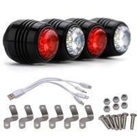 أضواء الدراجة Skiteboard LED مجموعة ماء الليلة تحذير مصباح ل سكوتر الكهربائية longboot اثنين عجلة طوي