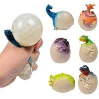 Fidget juguete anti estrés dinosaurio huevo novedad diversión esplatería uva ventaja bolas de ventilación apretar tensiones reliever gags practical bromas juguetes divertidos gadgets