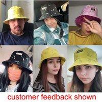 Panama Bucket Hat Men Women Summer Bucket Cap Banana Print Yellow Hats Bob caps Hip Hop Gorros Fishing Fisherman Hat