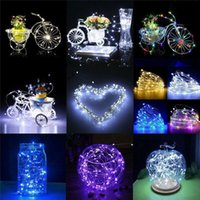 8colors 1-20M LED String Light Waterproof Copper Wire lighting Fairy light Garland Battery Operation For Christmas Tree Wedding Party Decor