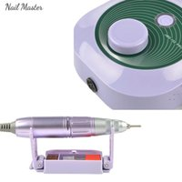 Nail Drill & Accessories Upgraded Efile Handpiece Electric Machine Manicure Pedicure Kit Art File With 4 Bits