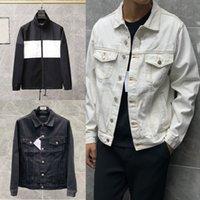 21s Denim jaqueta homens mulheres top qualidade balencaiga casacos casuais preto moda masculina jaquetas estilistas homem tamanho s-xl