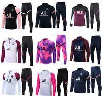 2020 2021 PSG tuta 20 21 Paris MBAPPE tuta da allenamento manica lunga Kit giacca da allenamento completo da allenamento chandal